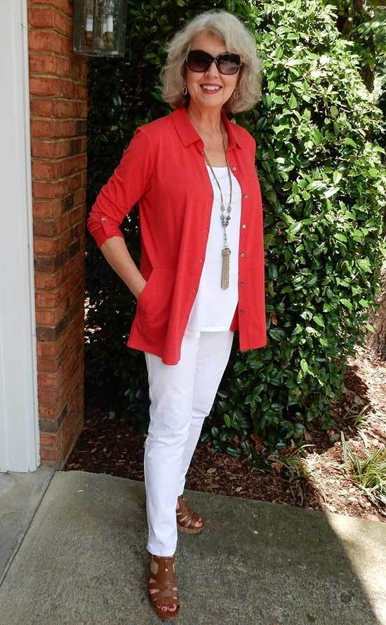 Outfits for Women Over 50 Fashion