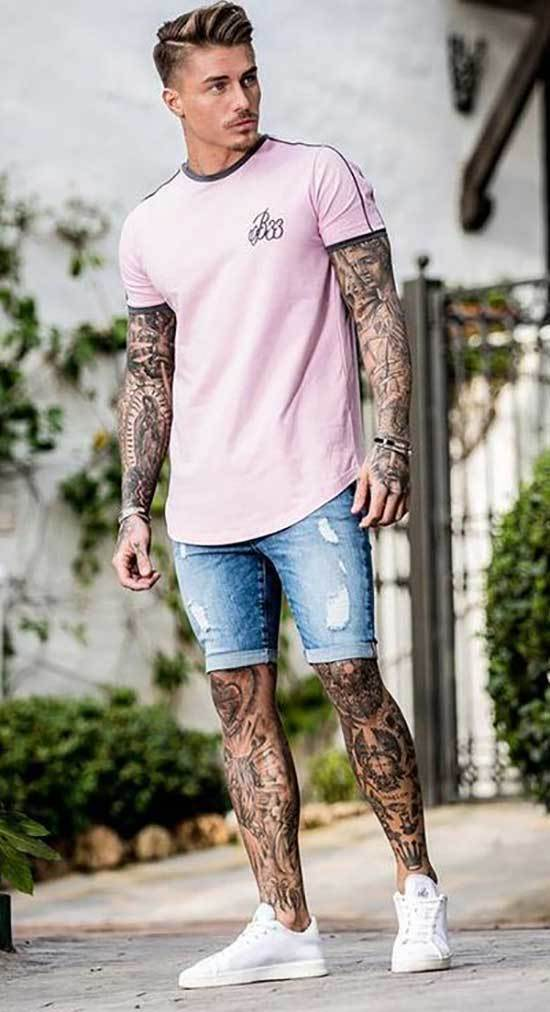 Summer Jean Outfits for Men