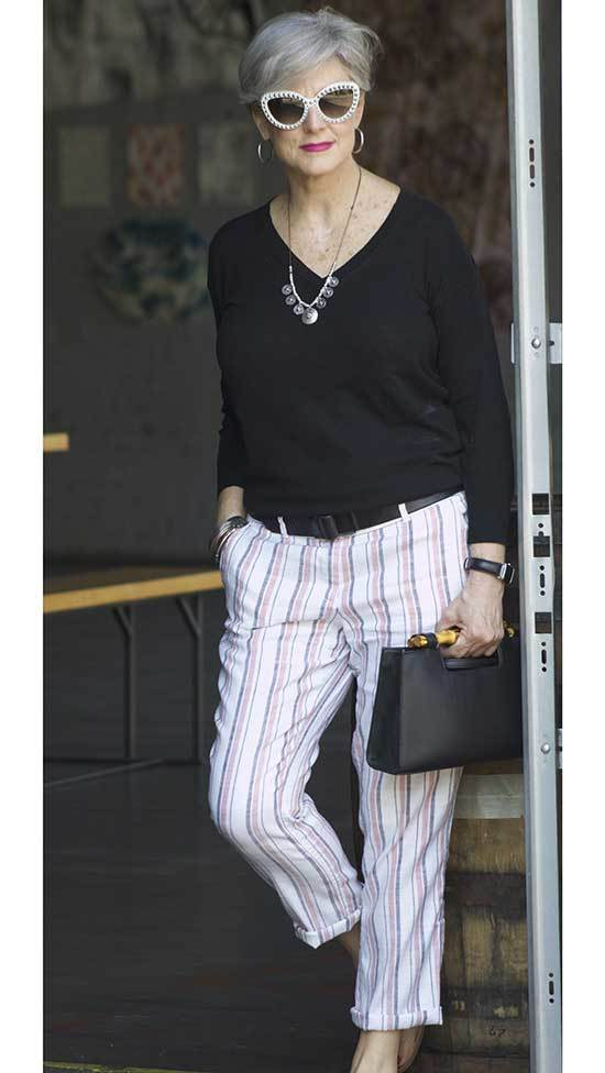 Pants Outfits for Women Over 50