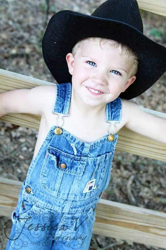 Denim Little Boy Country Outfits