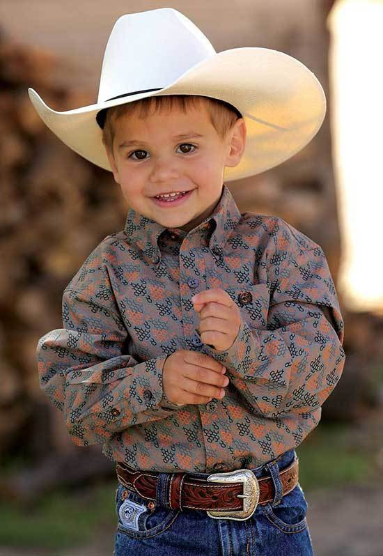 Little Boy Country Shirt Outfits