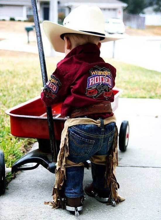 Little Boy Western Country Outfits
