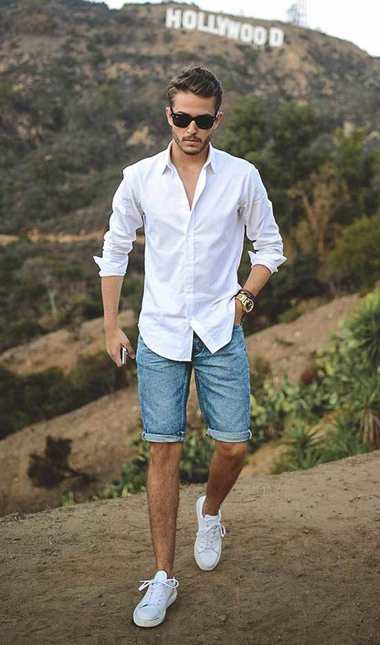 Summer Shirt Outfits for Men