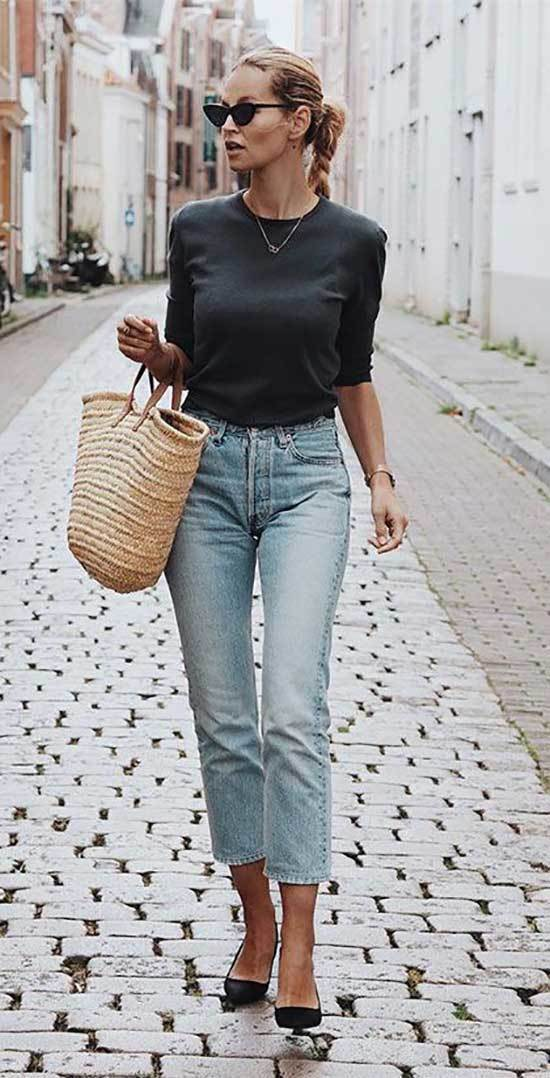 High Waisted Pants Outfits-42