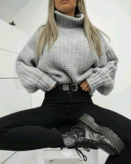 High Waisted Pants Outfits-44