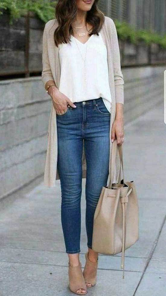 Business Casual Jeans Outfits