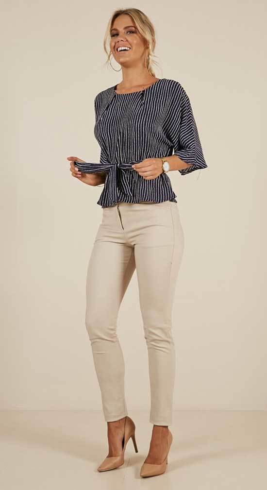 Business Casual Blouse Outfits