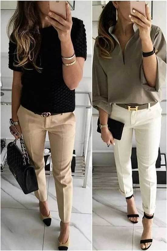 Business Casual Spring Outfits