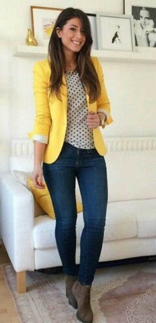 Business Casual Blazer Outfits