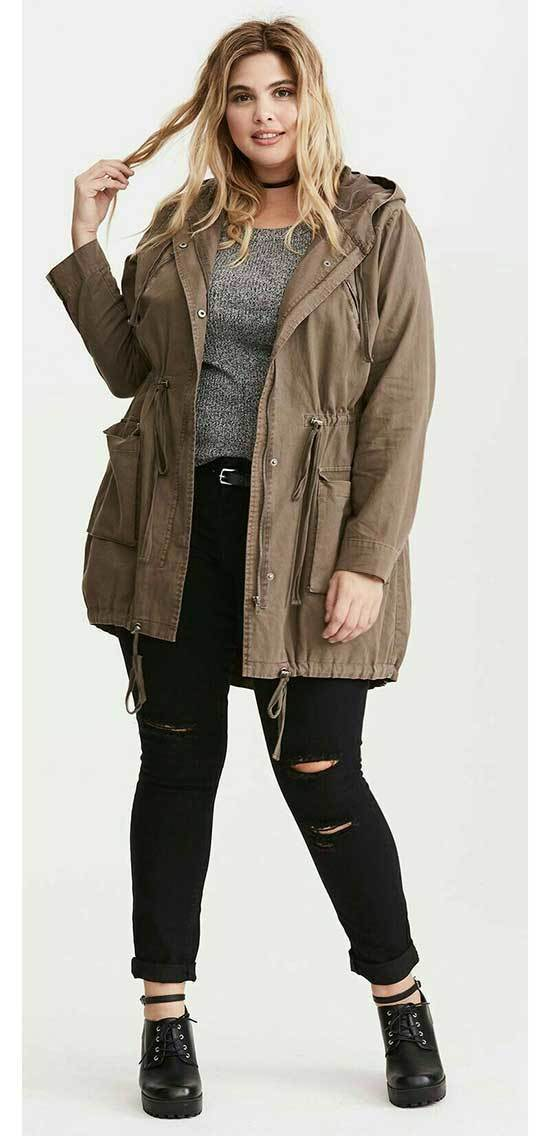 Chic Plus Size Fall Outfits