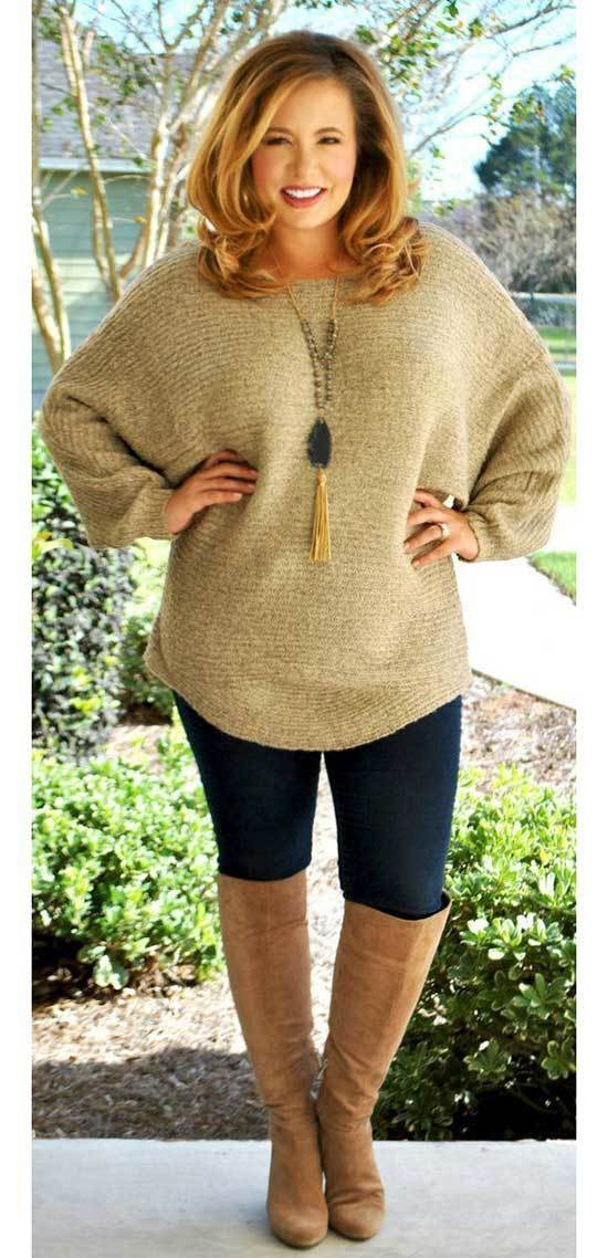 Comfy Plus Size Fall Outfits