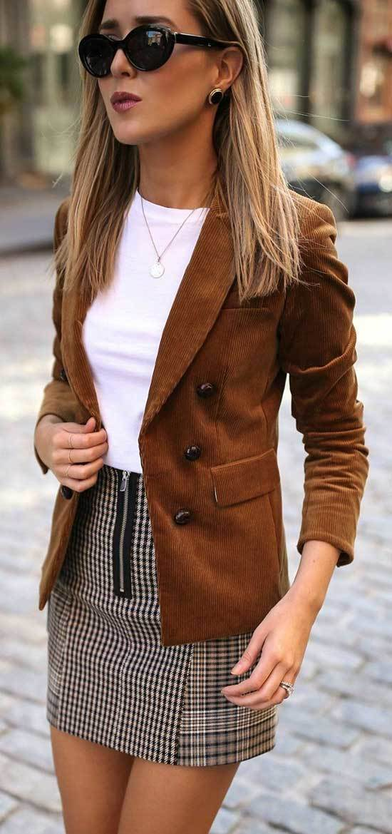 Cozy Autumn Work Outfits