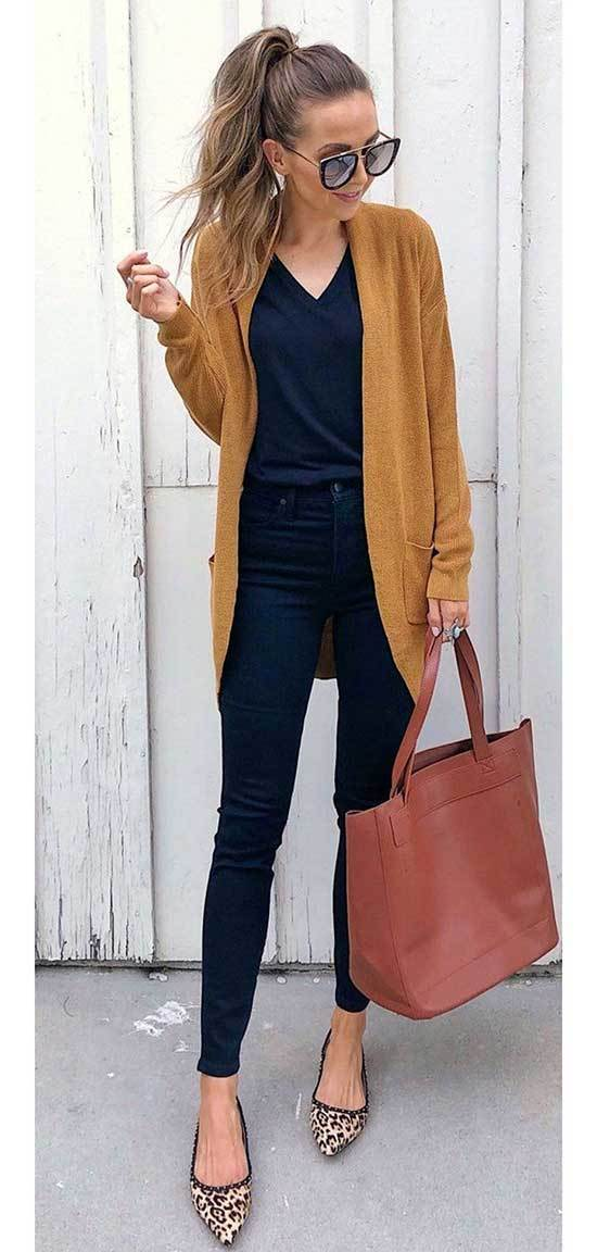 Cute Autumn Work Outfits