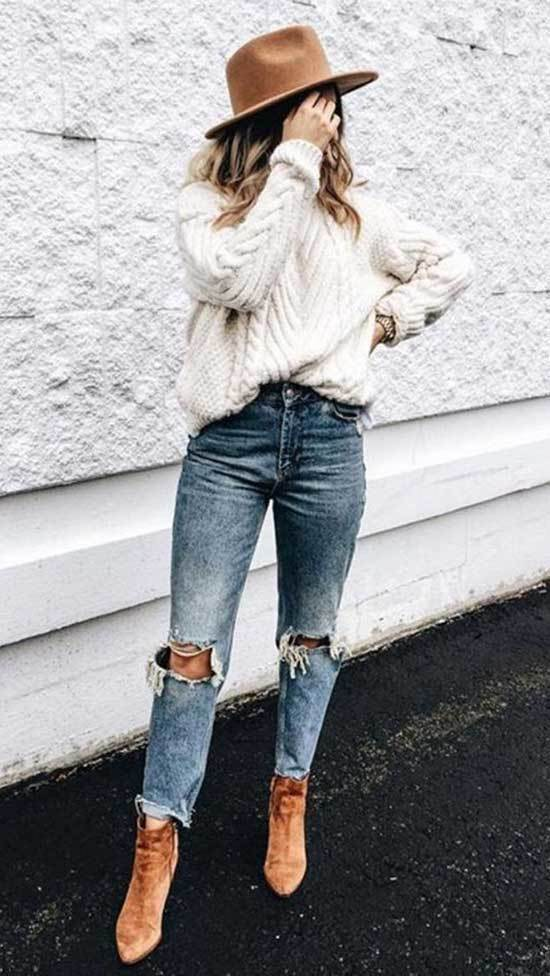 Fall Jeans Outfits