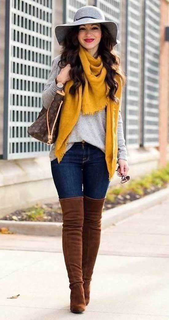 Fall Colors Outfits