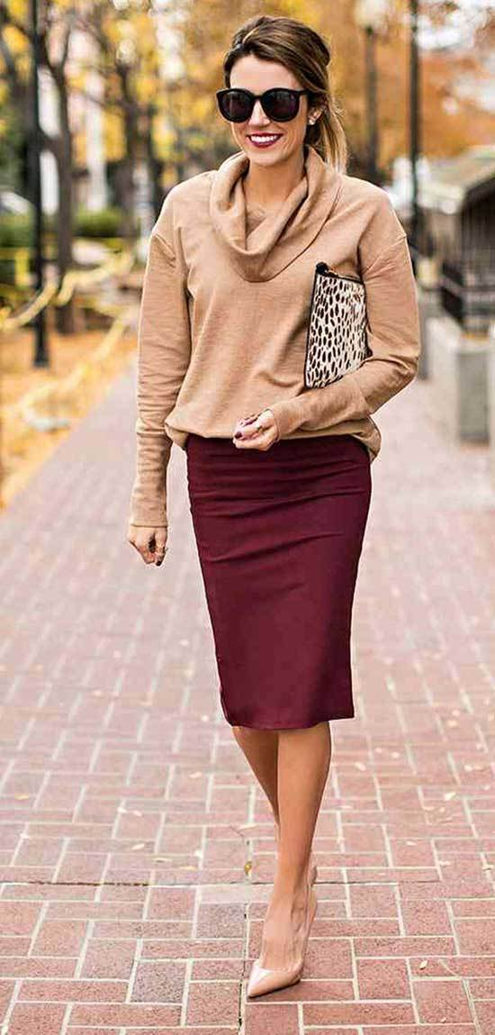 Autumn Work Outfits for Office