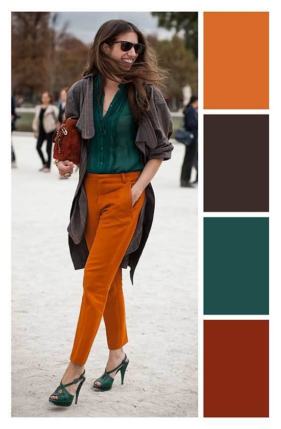 Colorful Fall Outfits