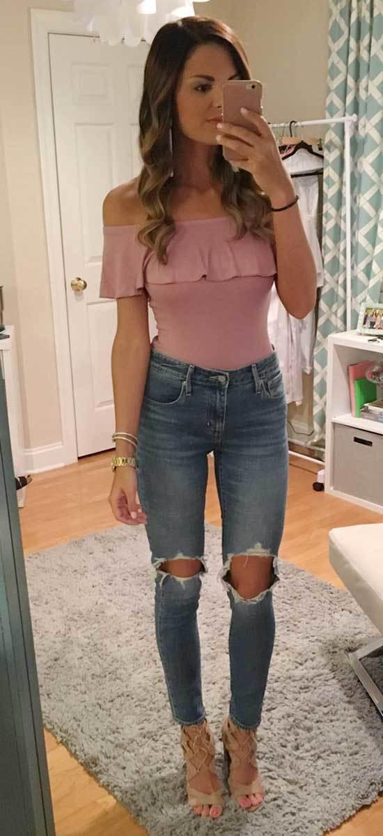 High Waisted Pants Night Out Outfits