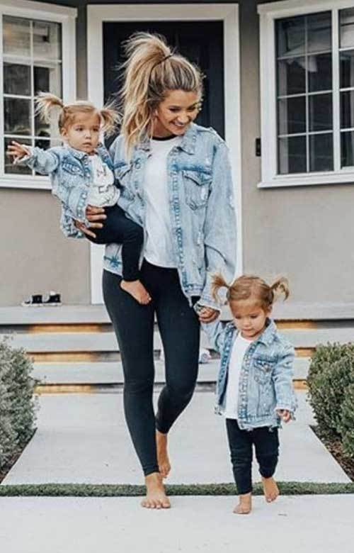 Twin Matching Outfit Ideas