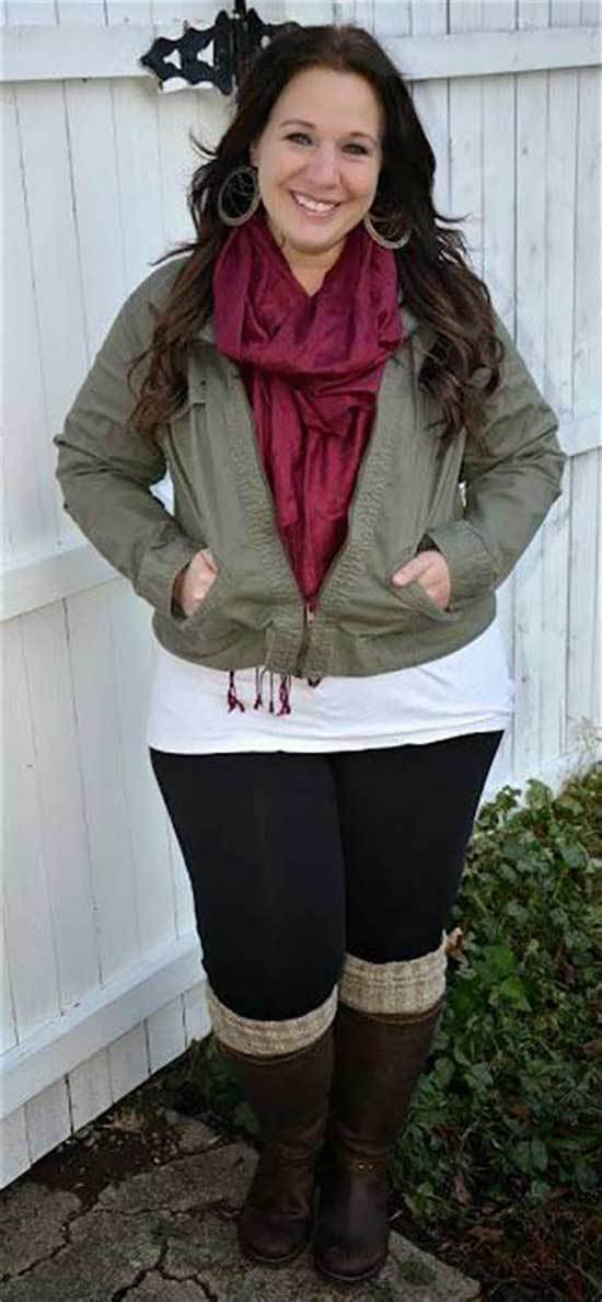 Plus Size Fall Winter Outfits