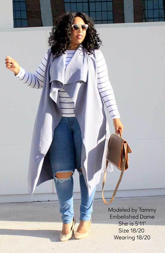 Plus Size Fall Work Outfits