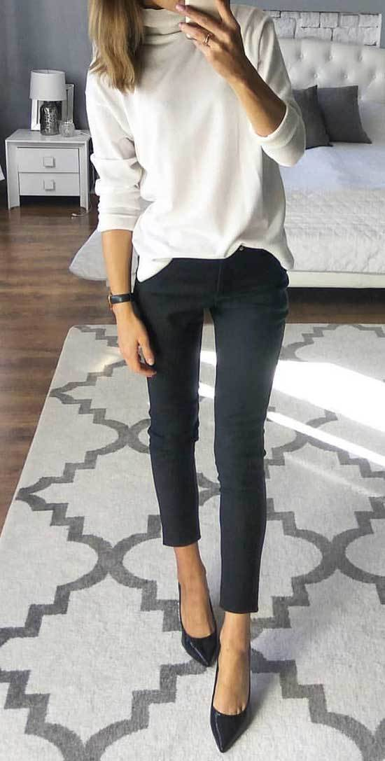 Simple Business Casual Outfits