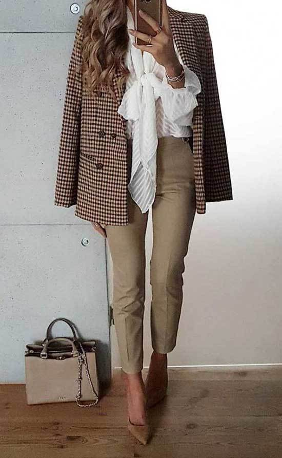 Stylish Autumn Work Outfits
