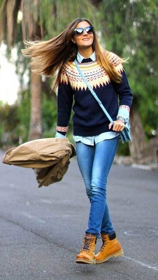 Timberland Fashion Outfits for Women