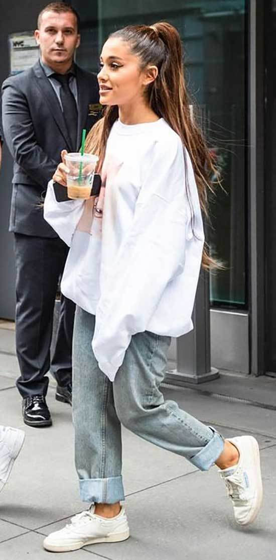 Ariana Grande Casual Outfits 2019