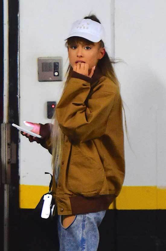Ariana Grande Jacket Outfits 2019
