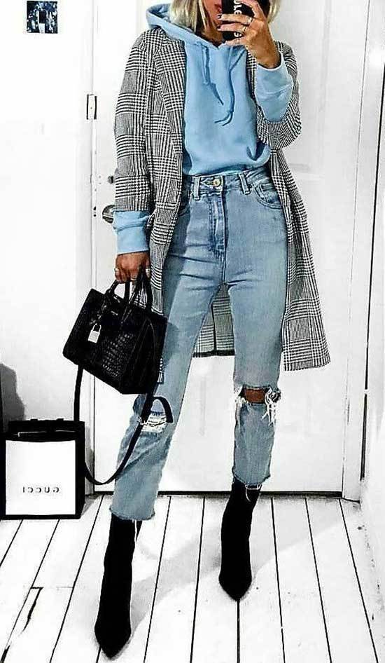 Jeans and Boots Outfits for Going Out