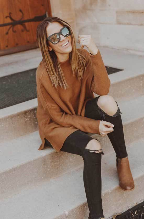 Thanksgiving Jeans Outfits for Women