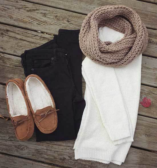 Thanksgiving Scarf Outfits for Women
