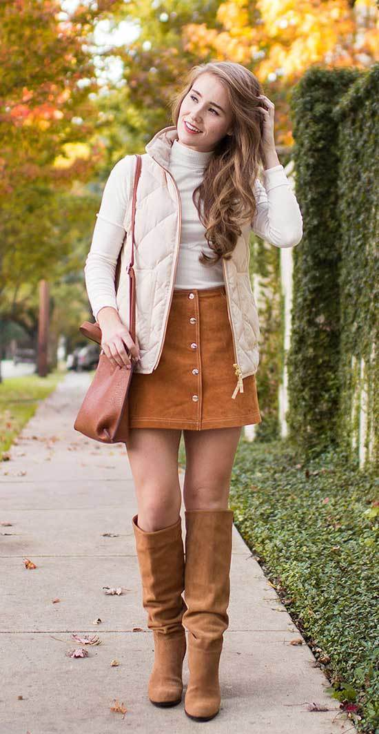 Thanksgiving Outfits with Skirt for Women