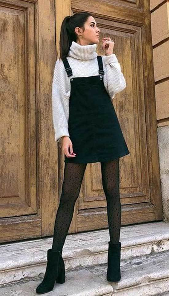 Winter Dress Outfit Ideas