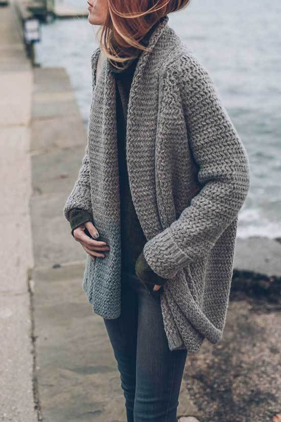 Winter Cardigan Outfit Ideas