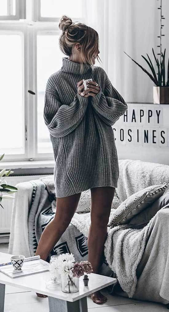 Winter Lazy Day Outfit Ideas
