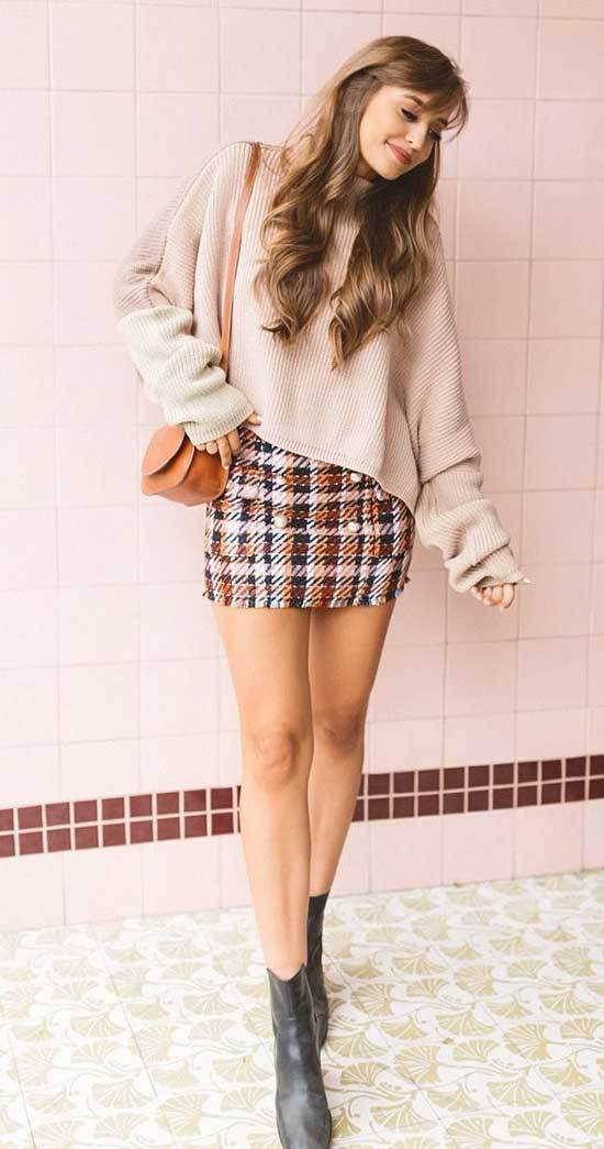Plaid Winter Outfit Ideas