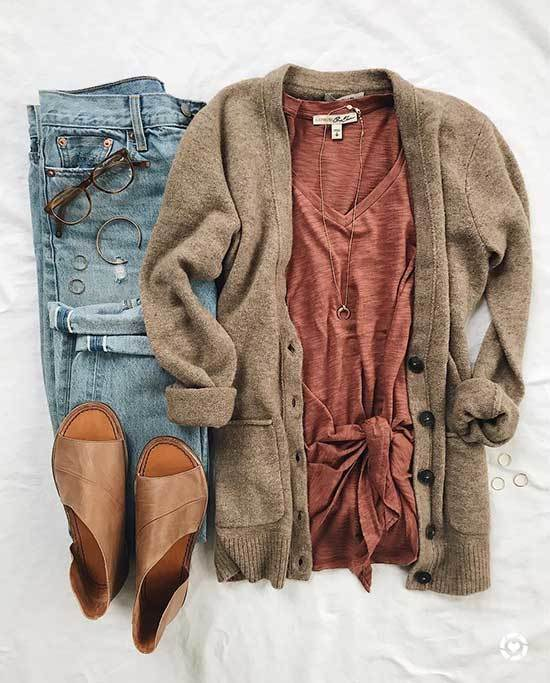 Winter Sweater Outfits