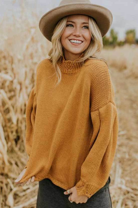Yellow Winter Outfit Ideas