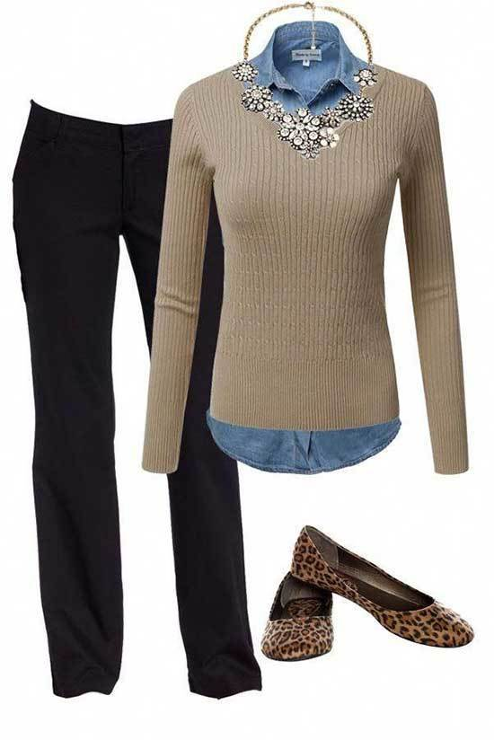 Winter Outfits for Women Over 50-24