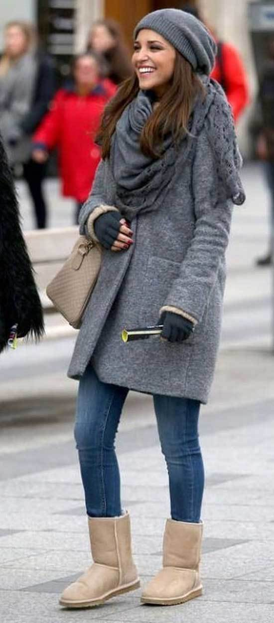 Cute Winter Outfits with Uggs-26