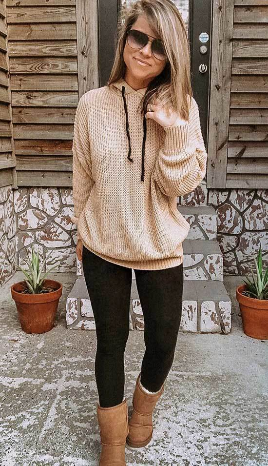 Cute Winter Outfits with Uggs-27