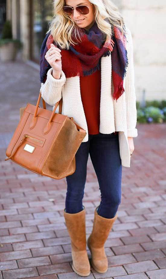 Cute Winter Outfits with Uggs-28