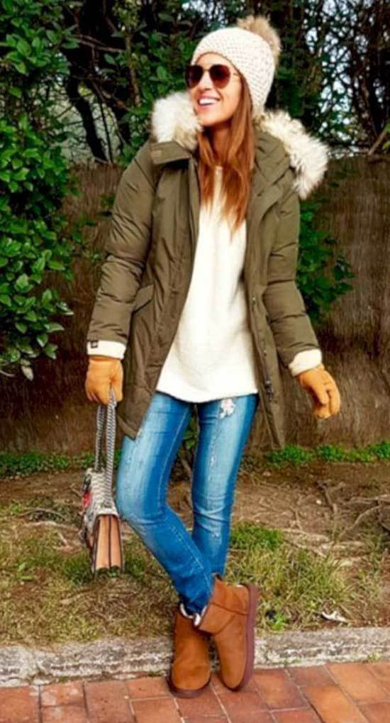 Cute Winter Outfits with Uggs-30