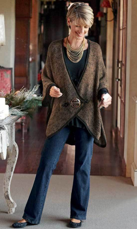 Winter Outfits for Women Over 50-31