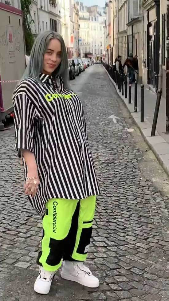 35 billie eilish outfits baggy styles  outfit  fashion