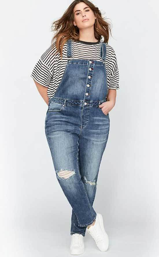 Slim Overall Outfits