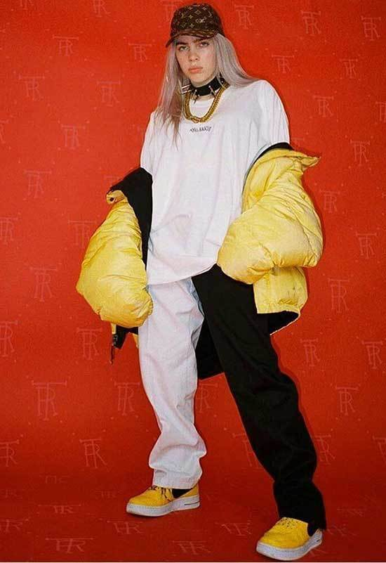 Billie Eilish Shirt Outfits