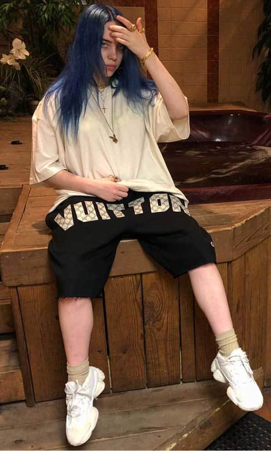 Billie Eilish Sneakers Outfits